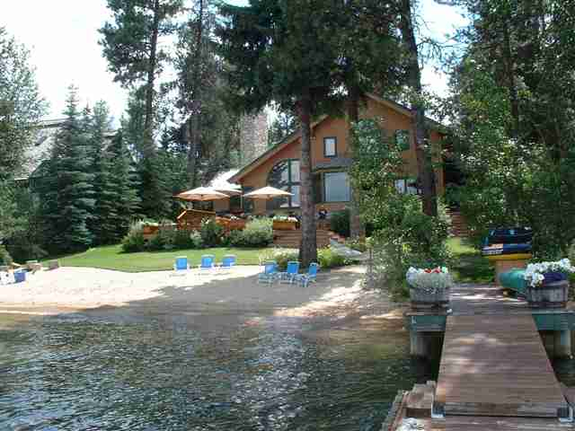 McCall lake front house sells